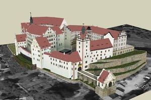 3ds max colditz castle