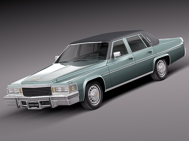 3d classic antique sedan luxury