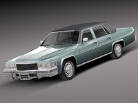 3d classic antique sedan luxury
