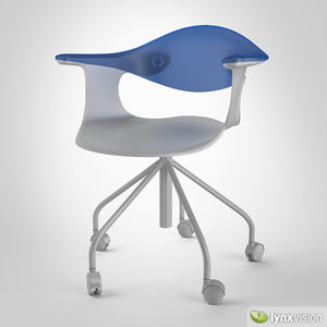 3d max spin chair