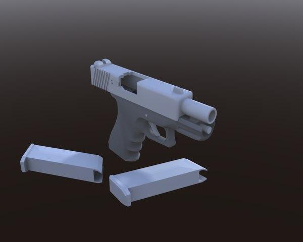 3d model glock