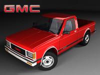 3d gmc sonoma cab mk1 model