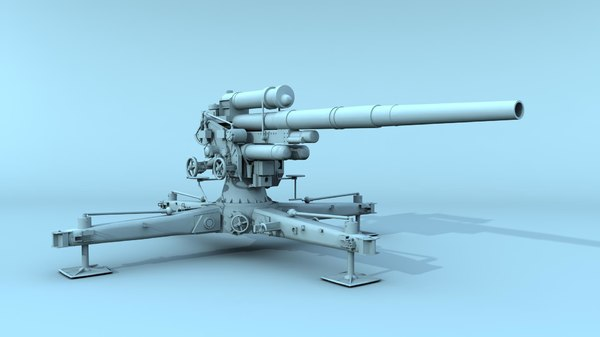 3d german flak