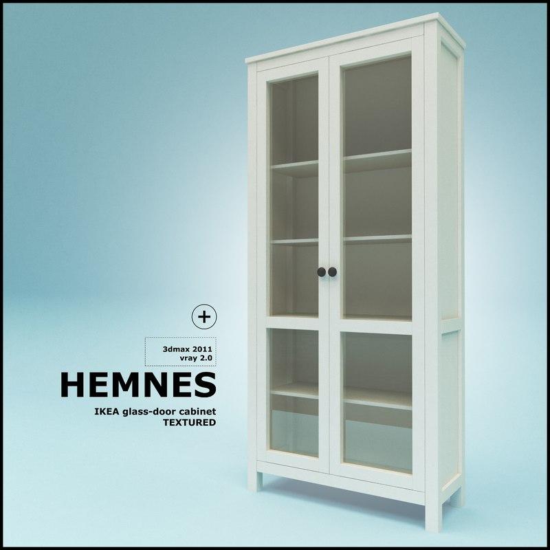 Ikea hemnes bookcase glass doors roselawnlutheran for Ikea hemnes glass door cabinet