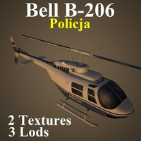 bell msw helicopter 3d model