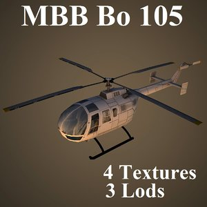 max mbb 105 helicopter