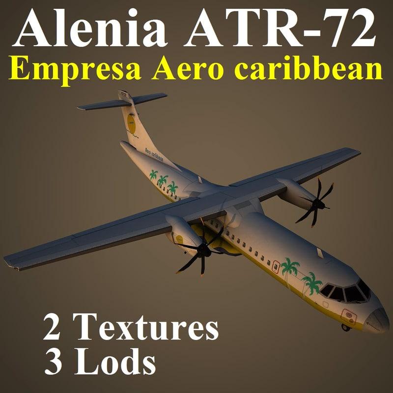 alenia crn 3d model