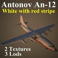 antonov wre 3d model