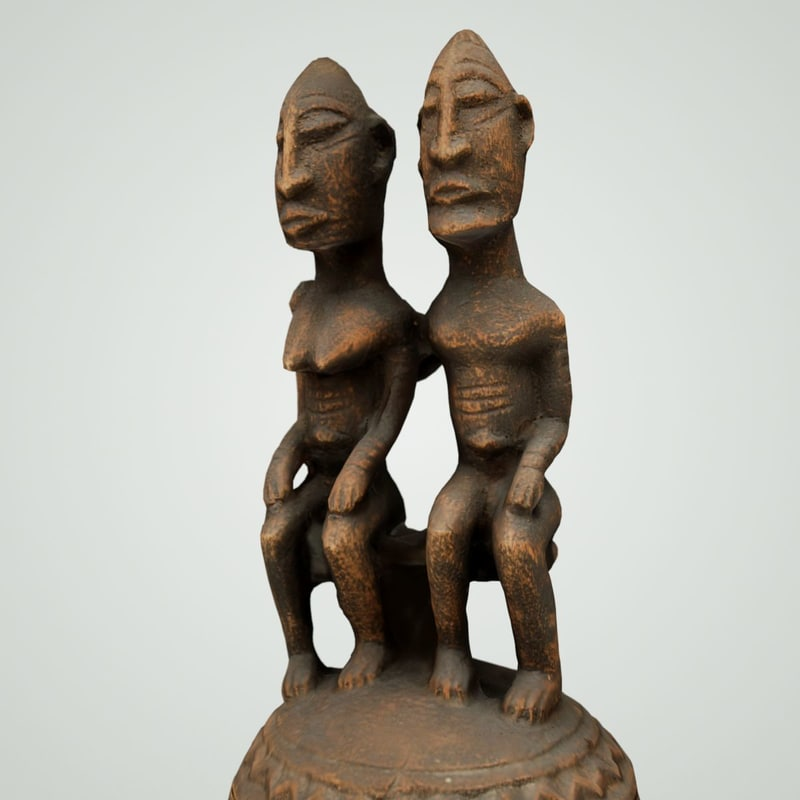 3d wood carved model