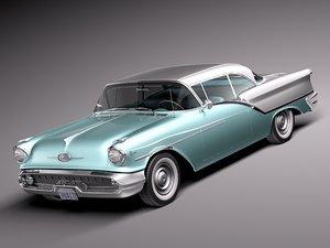 3d model v8 antique luxury coupe
