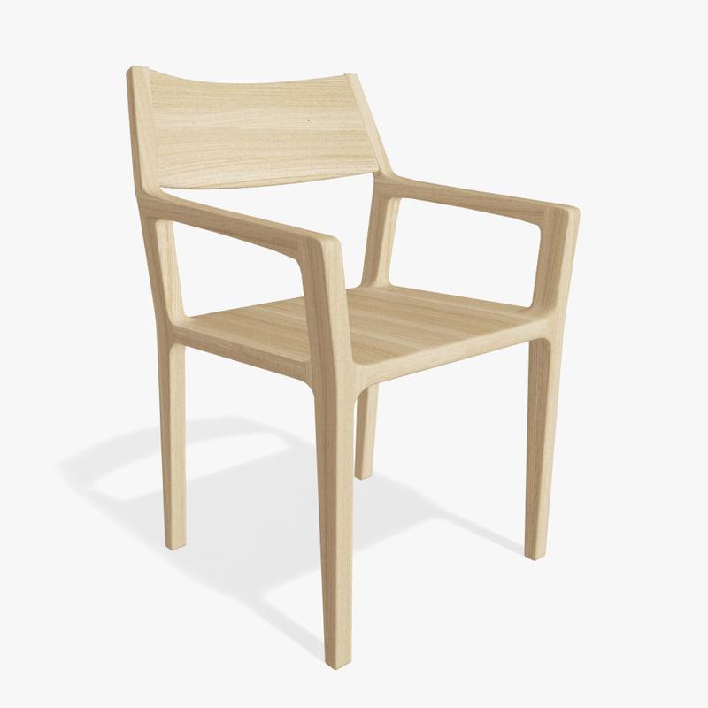 3d rodam optik chair model
