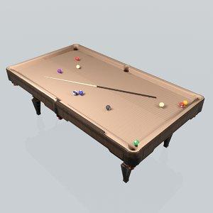 pool table max