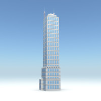 3d skyscraper 09 day night