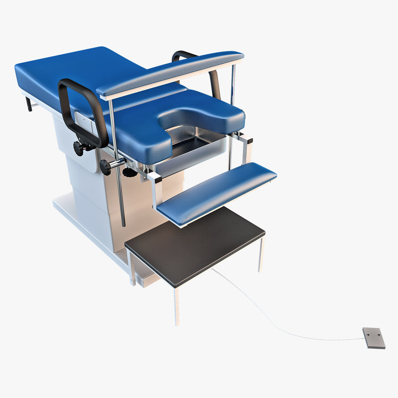 3d proctologic examination chair model