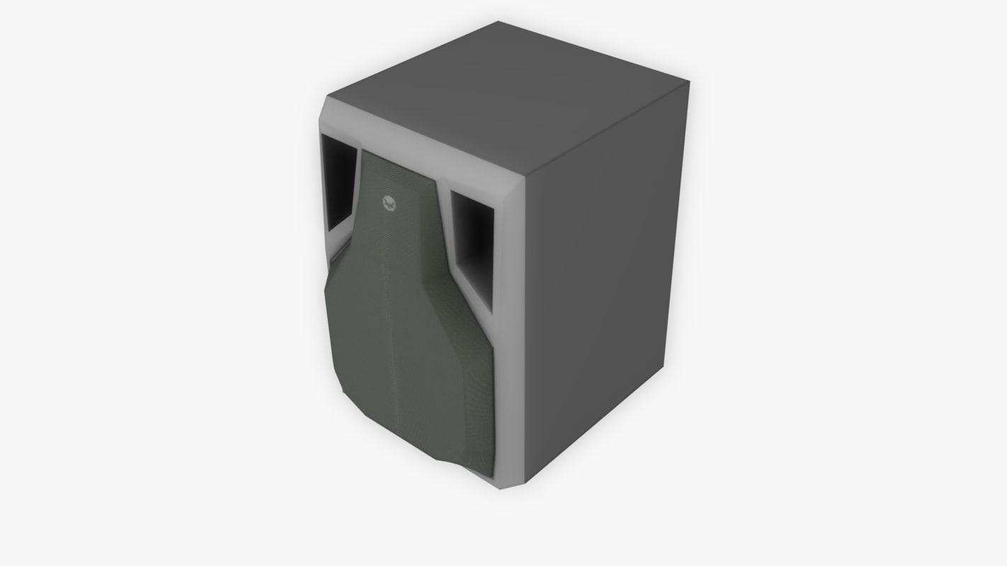 3d obj speaker