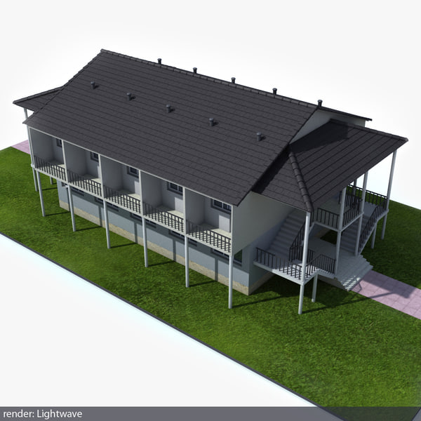 suburban building lwo