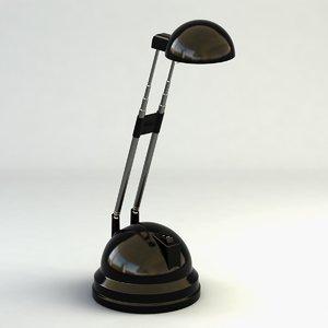 3d model of ikea lamp