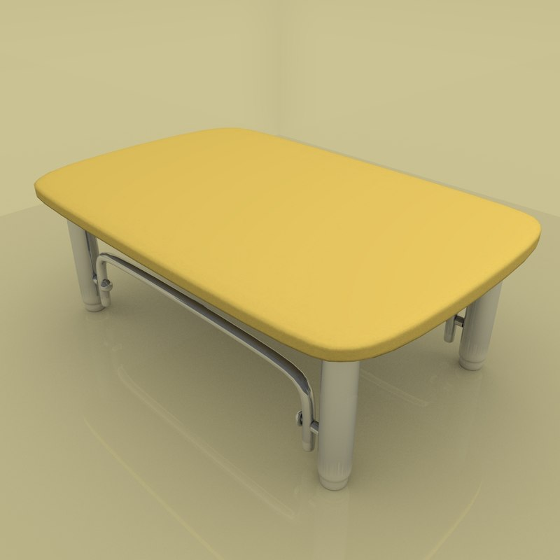 table living 3d 3ds