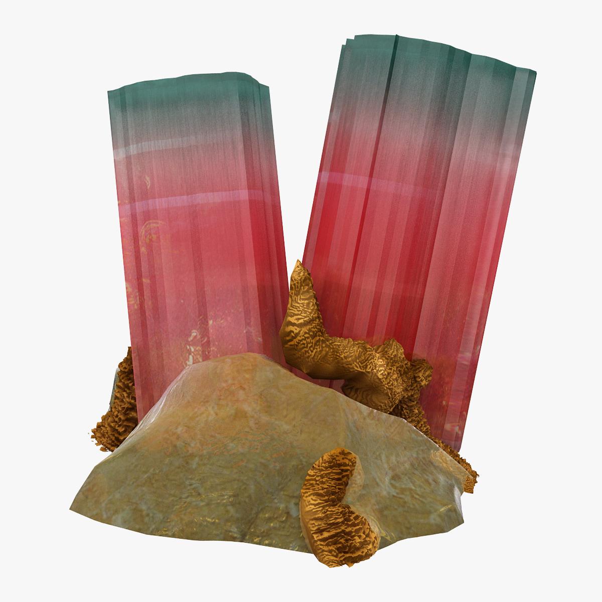 crystal modeled nature 3d model