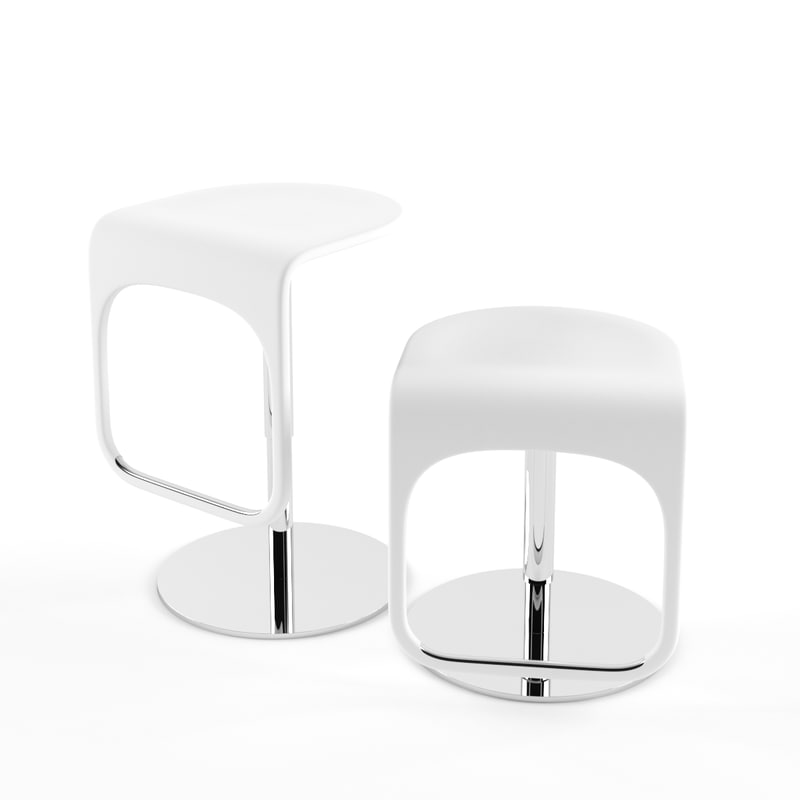 3d max ikea bar stool urban