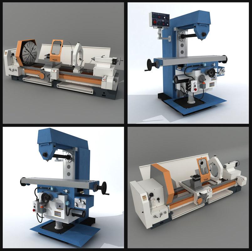 Horizontal Milling Machine >> 2 Milling Machines