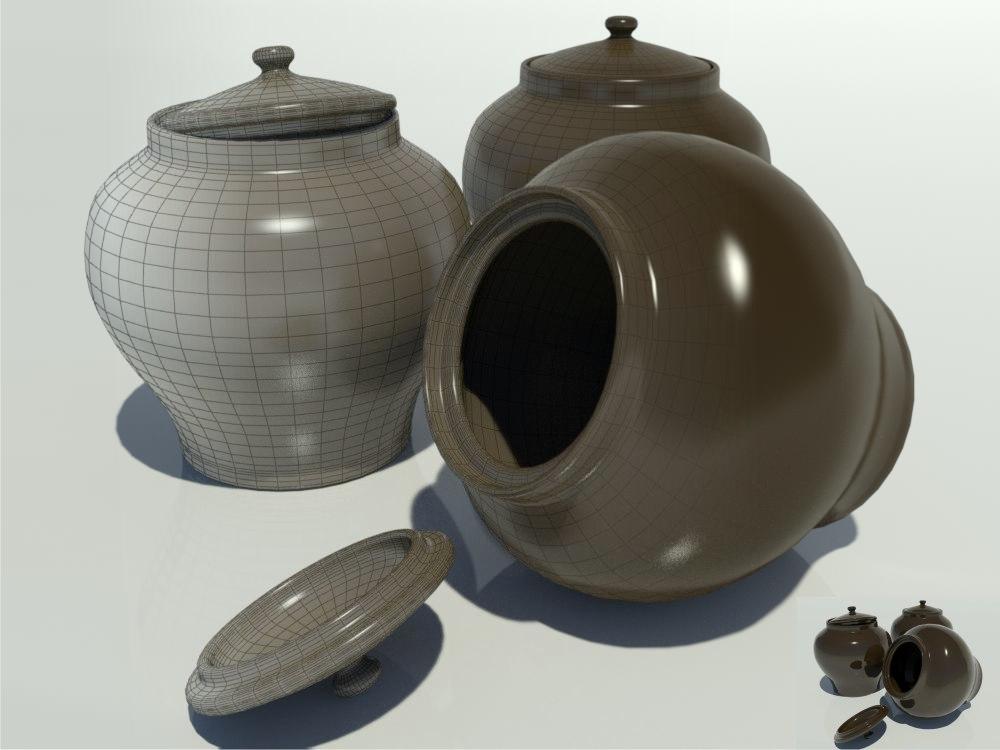 earthen pot 3ds