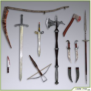 weapons sword sabres max