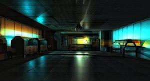scifi laboratory 3ds