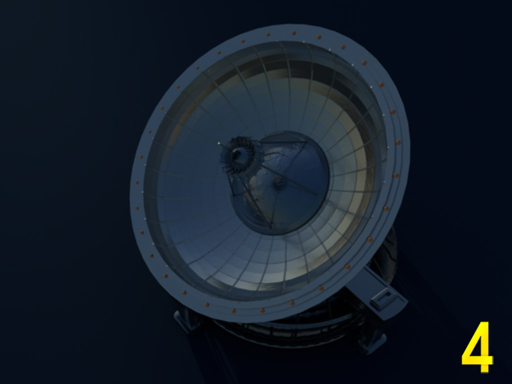 radar military structure 3ds