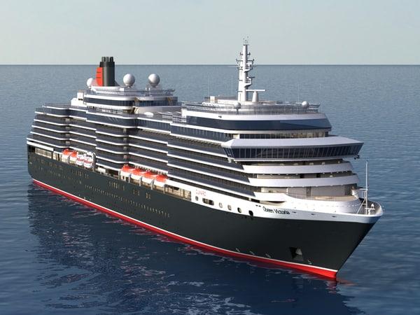 max queen victoria cruiser ship