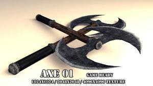 3d handed axe 01