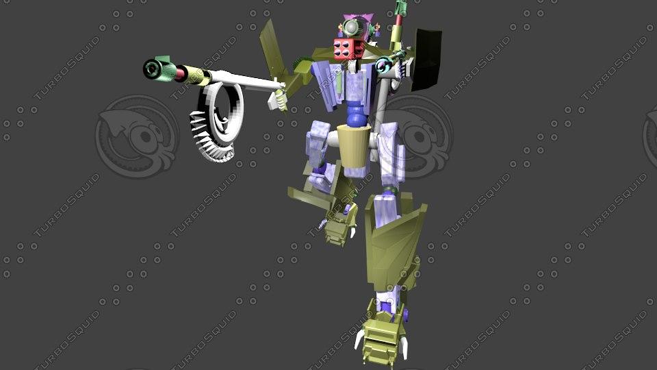 obj robot
