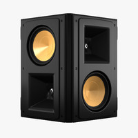 klipsch reference rs62 3d model