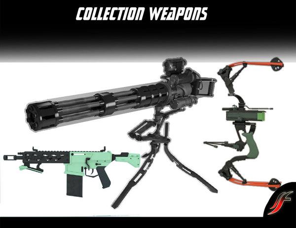 set weapons 3d 3ds
