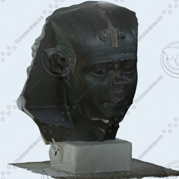 3d model sphinx historical