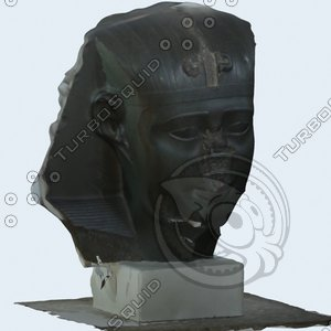 3d model sphinx historical