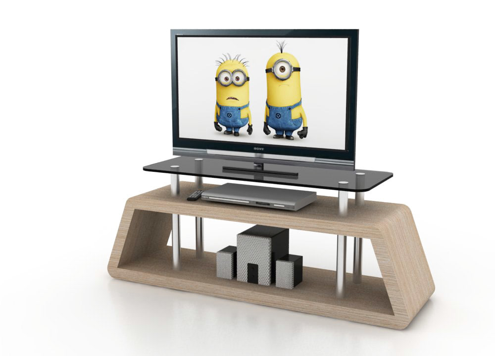 minimalist design tv stand 3d 3ds