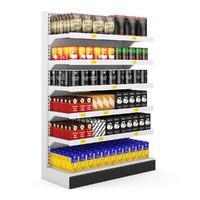 3d model of volume 32 supermarket market