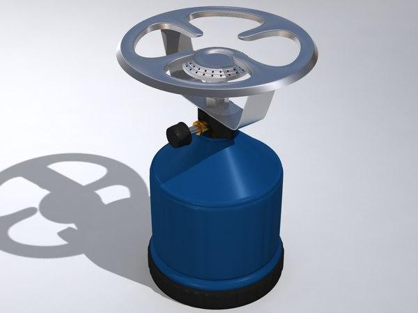 portable gas stove 3d max