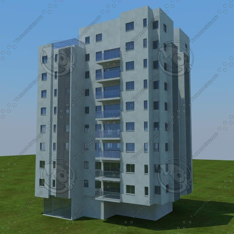 3d obj buildings 2 4