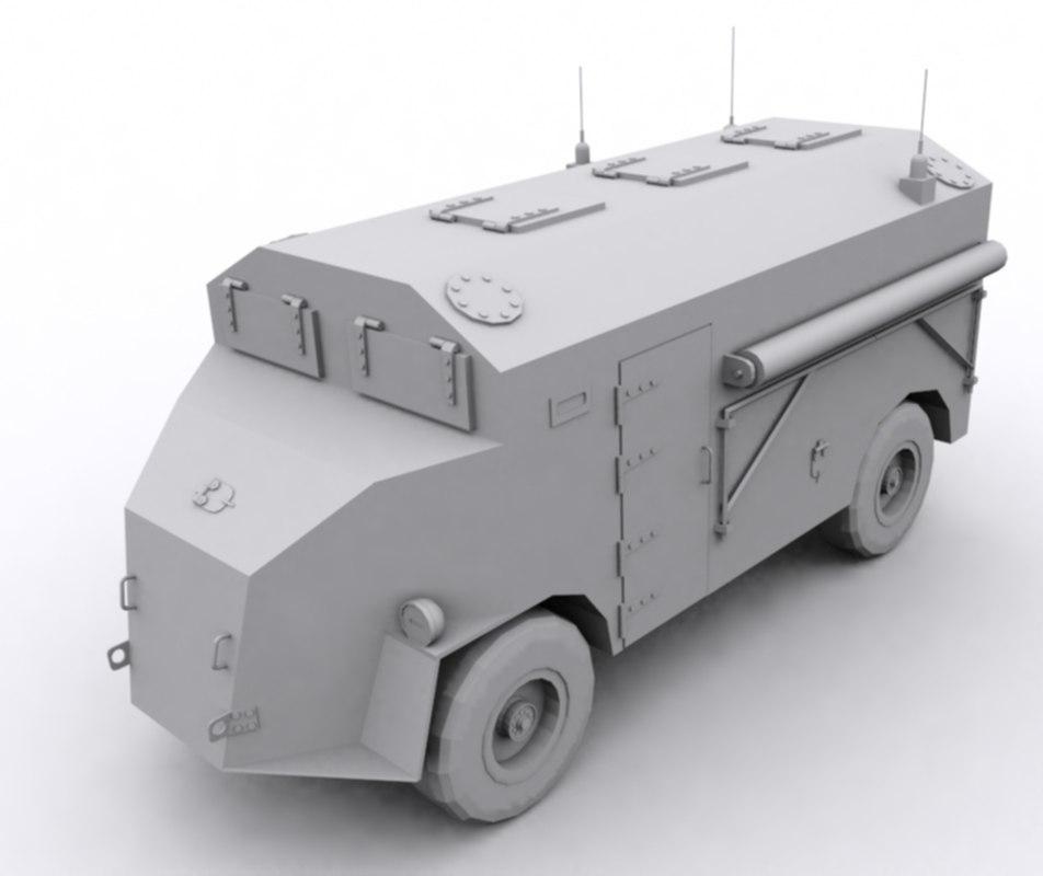 dorchester acv 3d model