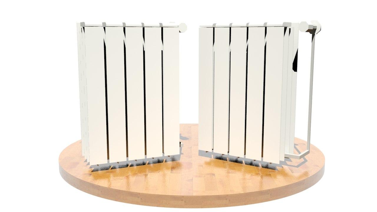 3d radiator model
