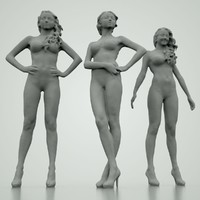 Basic 3D Girls