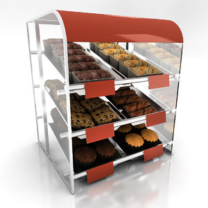 baked treat display 3ds