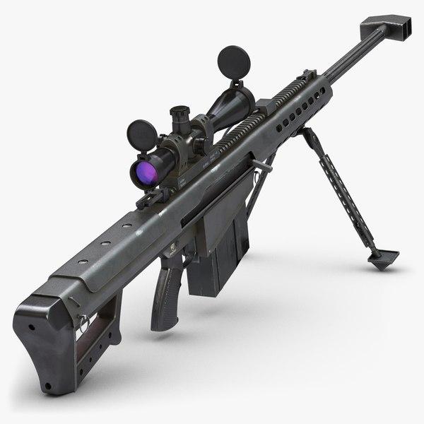 max rifle barrett