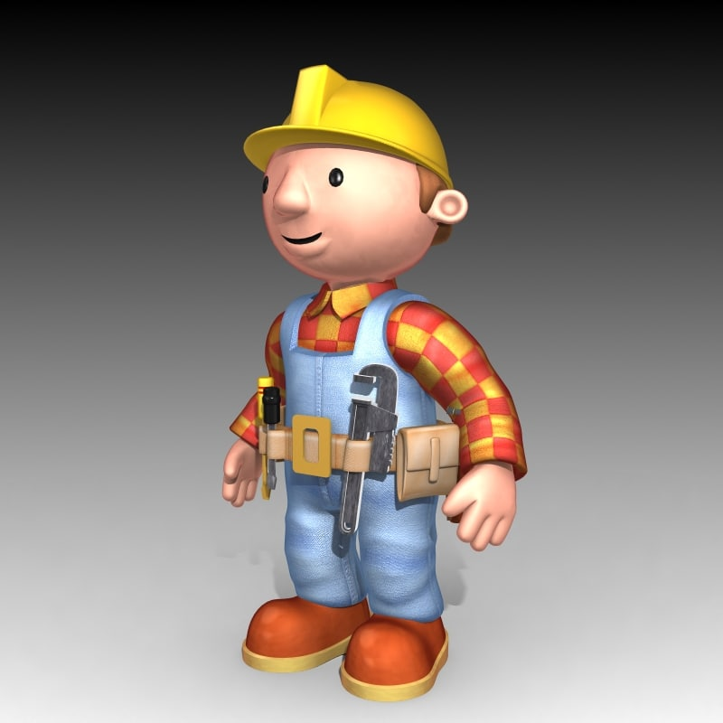bob builder 3d max