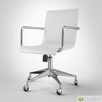 3d surf office chair model