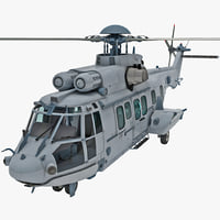 Eurocopter EC725 Caracal Tactical Transport Helicopter 7
