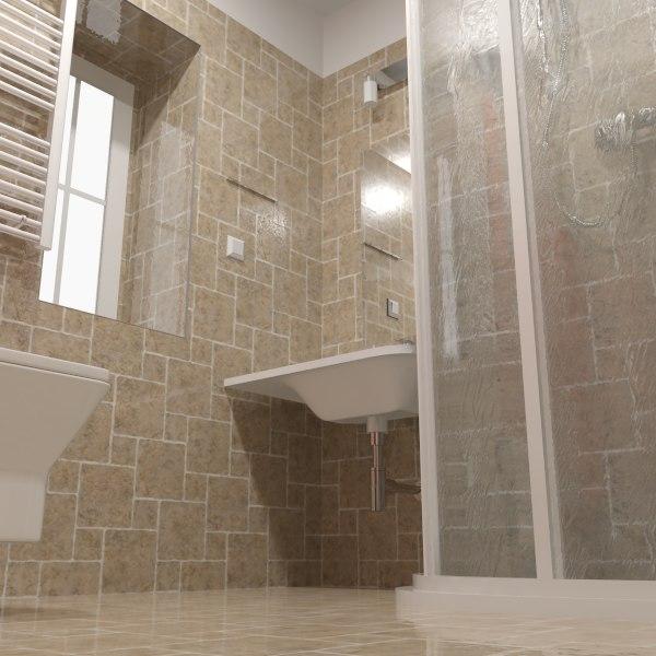 3d ceramic porcelain shower