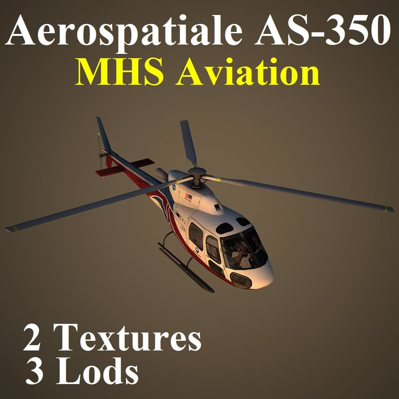 aerospatiale mhs helicopter max